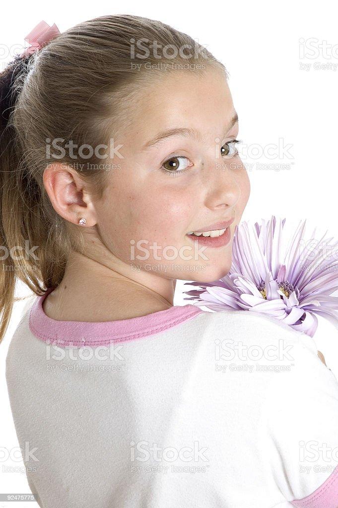 Flower Girl 4 royalty-free stock photo