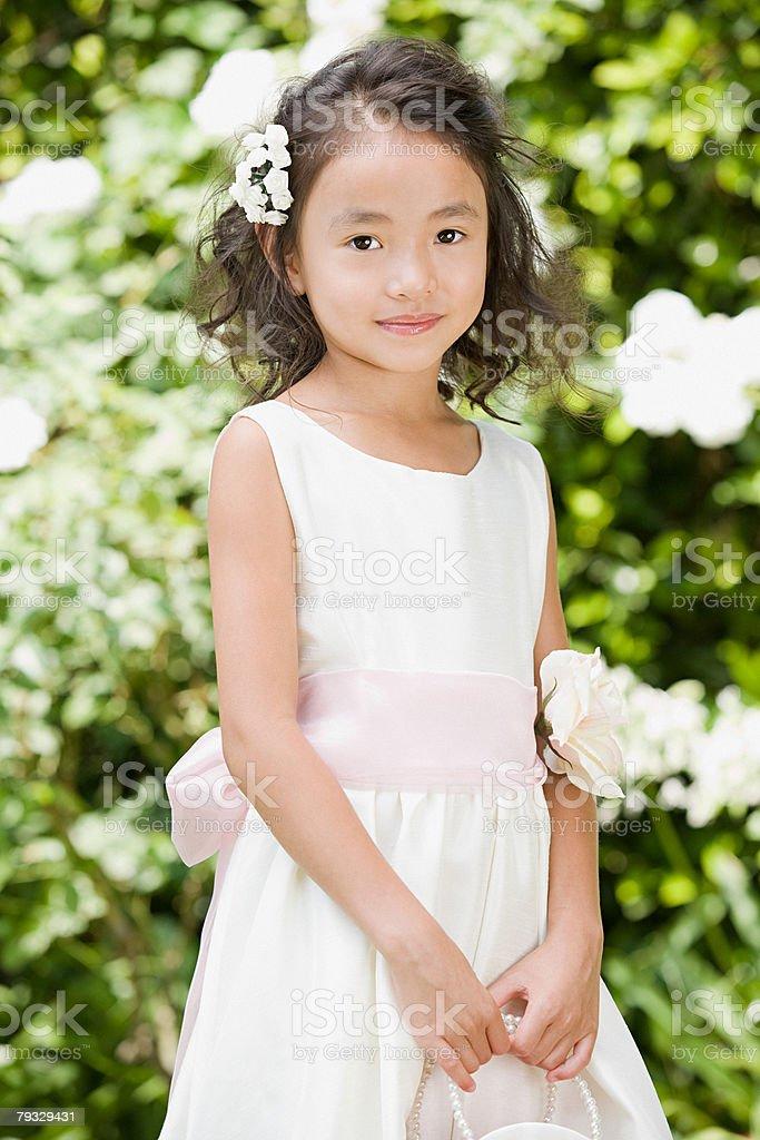 Flower girl 免版稅 stock photo