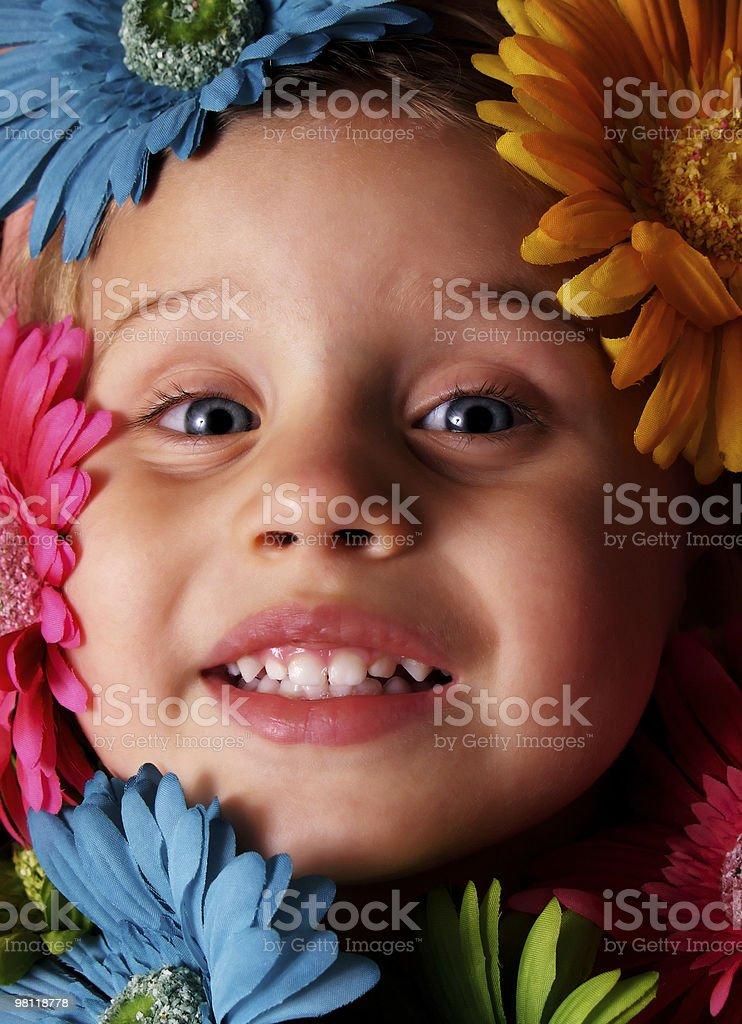 Flower Girl royalty-free stock photo