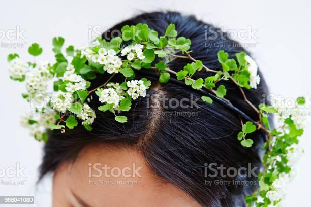 Цветочные Волосы Аксессуар — стоковые фотографии и другие картинки Венок