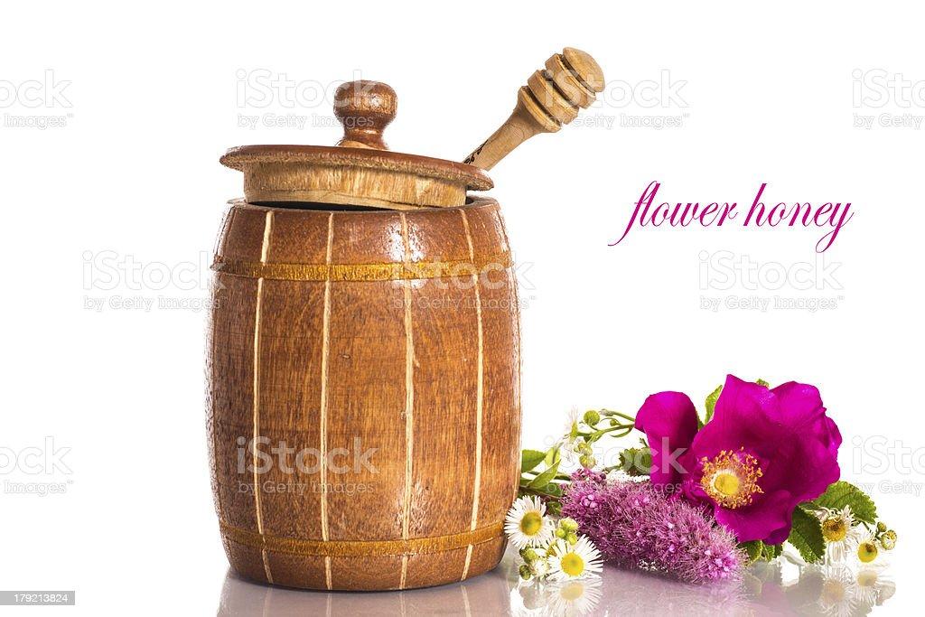 flower honey royalty-free stock photo