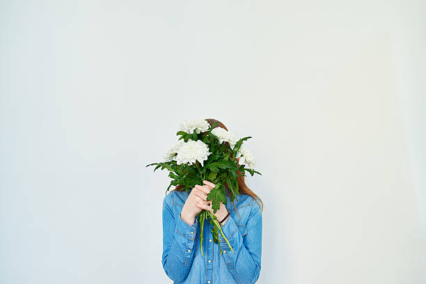 Flower incognito stock photo