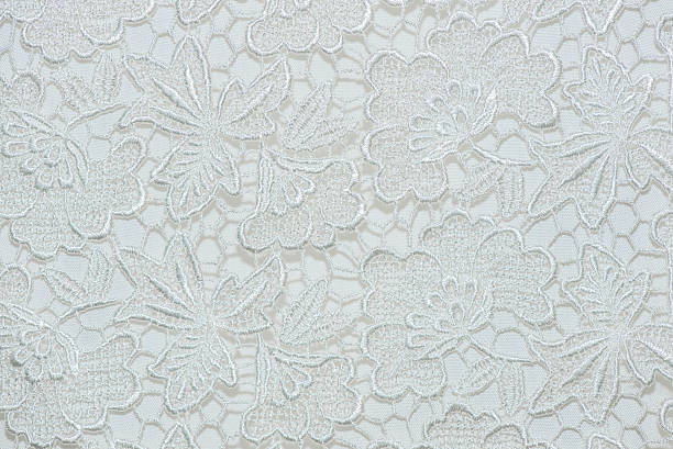 Flower lace pattern on fabric. Flower lace pattern on fabric. lace textile stock pictures, royalty-free photos & images