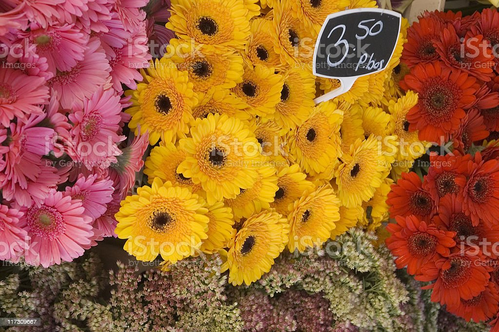 Flower Market royalty-free stock photo