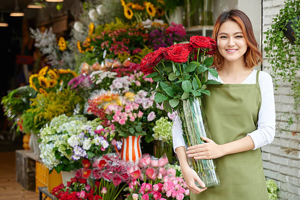flower market - adults only stock photos and pictures