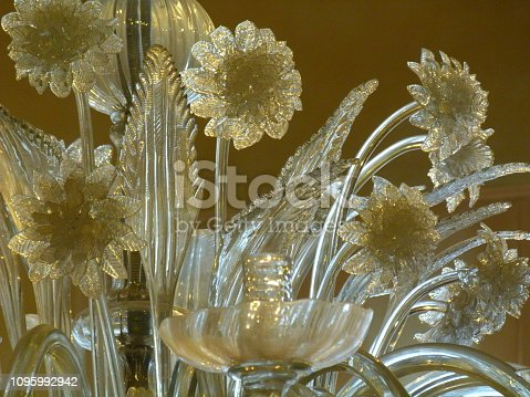 Flower of chandelier, Murano