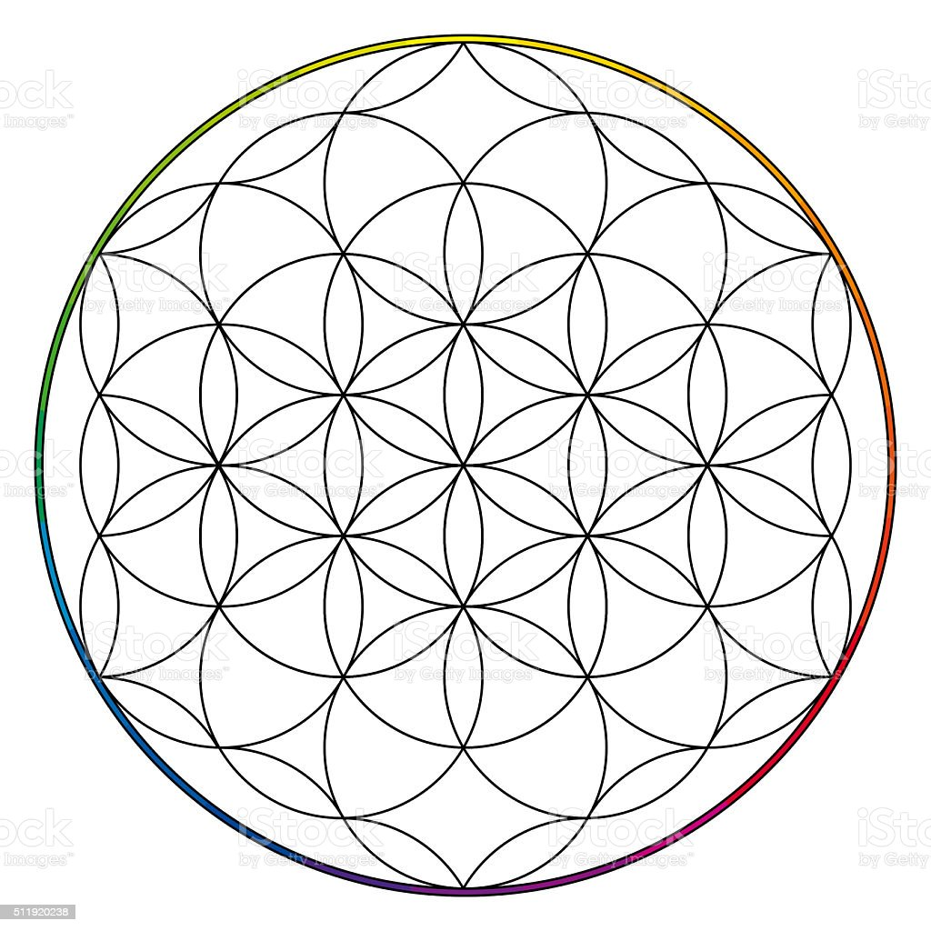 Fleur De Vie Le Bouddhisme Chakra Illustration Photos Et Plus D