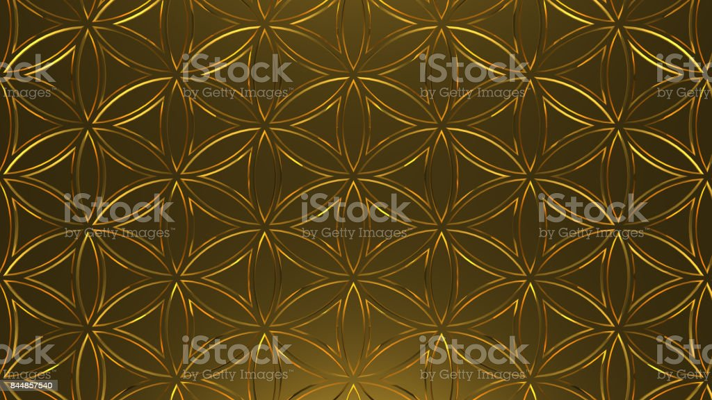 Flower of life - Mandalas stock photo