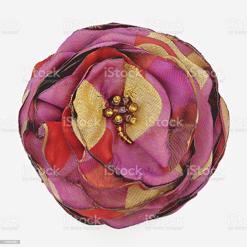 Flower of silk stock photo