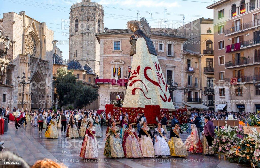 Fleur Avec De La Vierge Marie De Fallas De Valence Photos Et Plus