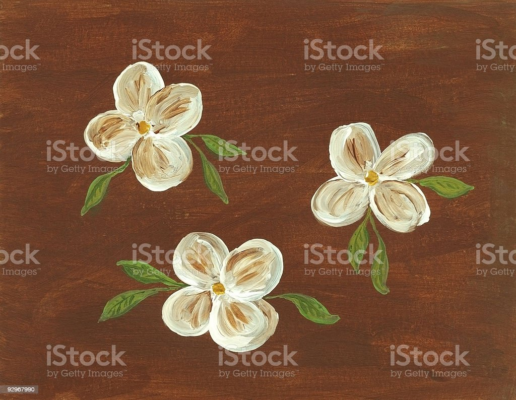 Flower Painting royalty-free stock photo