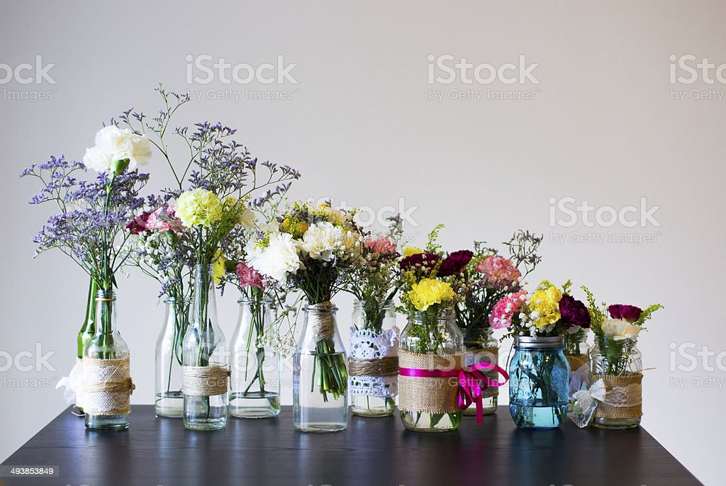 Flower party stock photo