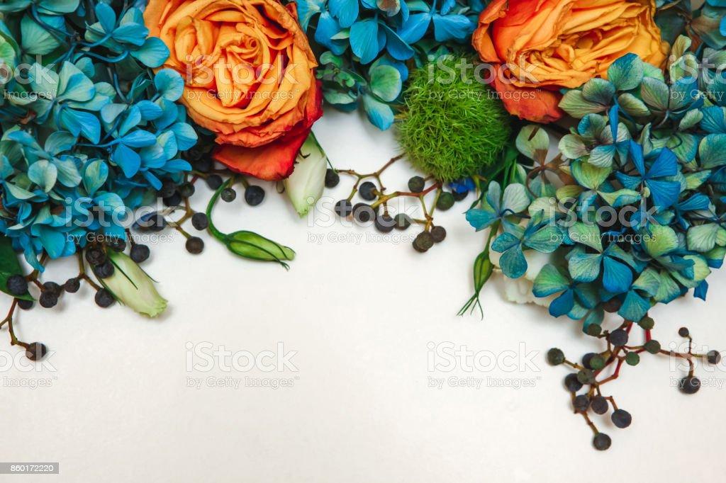 Flower Pattern Background stock photo