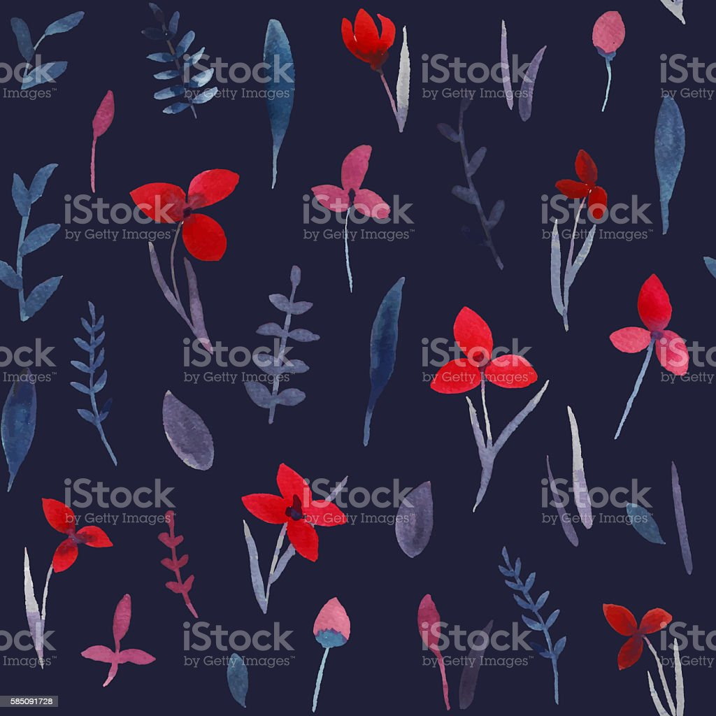Flower pattern. stock photo