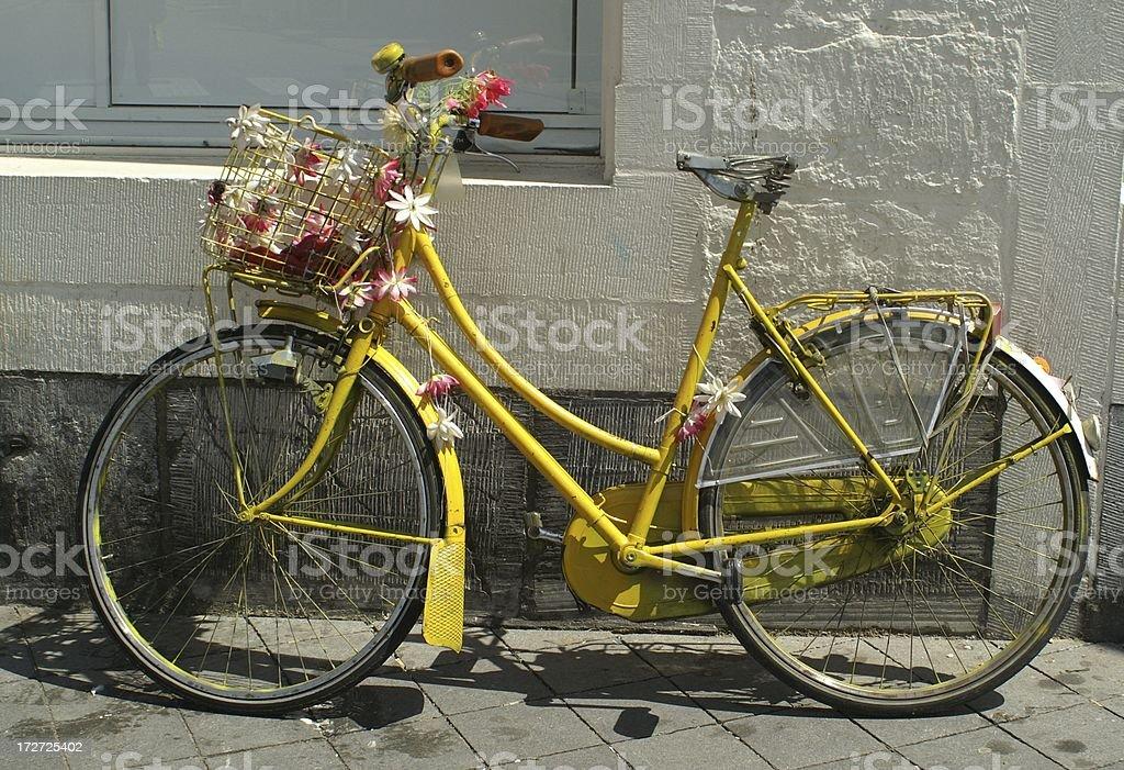Flower power Fahrrad – Foto