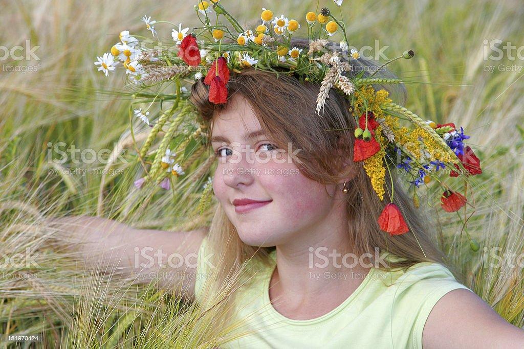 Flower Princess I royalty-free stock photo