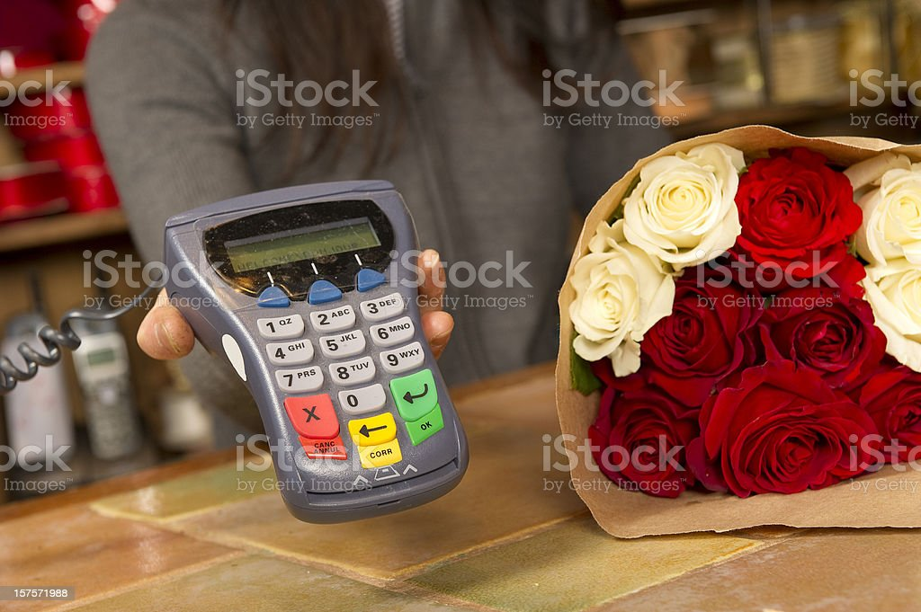 Flower Purchase stock photo