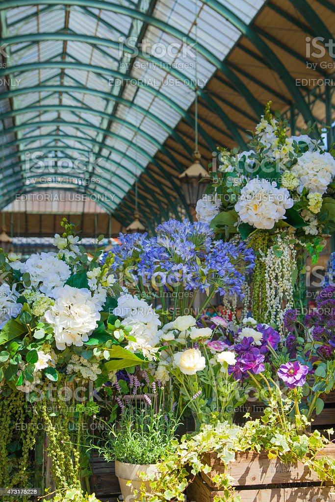 Flower Shop Covent Garden Market London Stock Photo & More Pictures ...