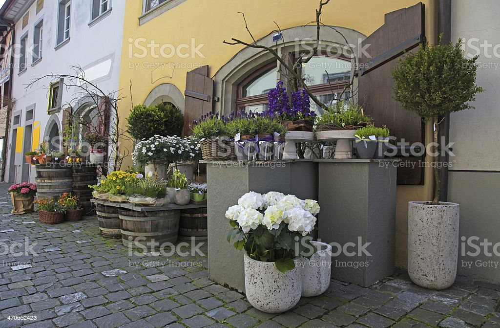 Flower shop. royalty-free stock photo