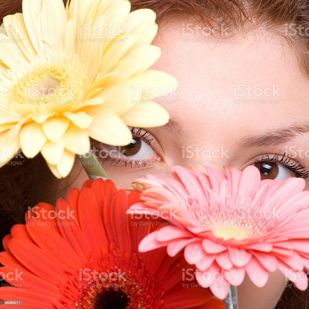 Flower Shy royalty-free stock photo