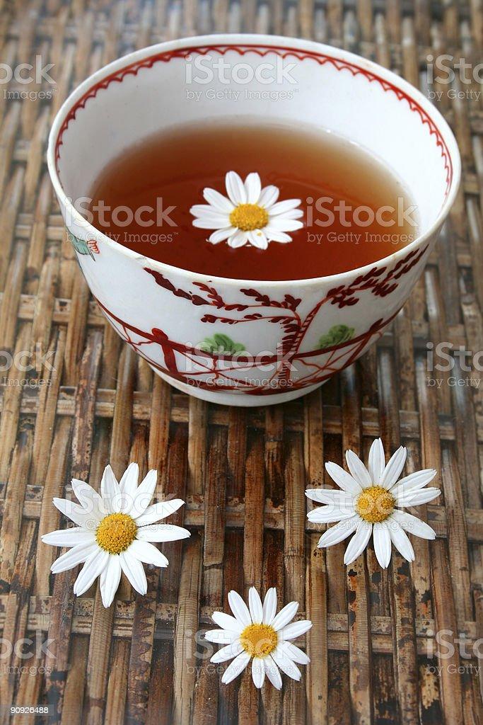 Flower Tea royalty-free stock photo