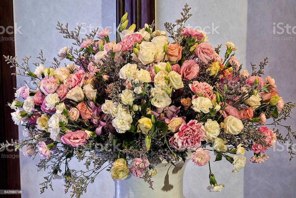 flower vase,Thailand stock photo