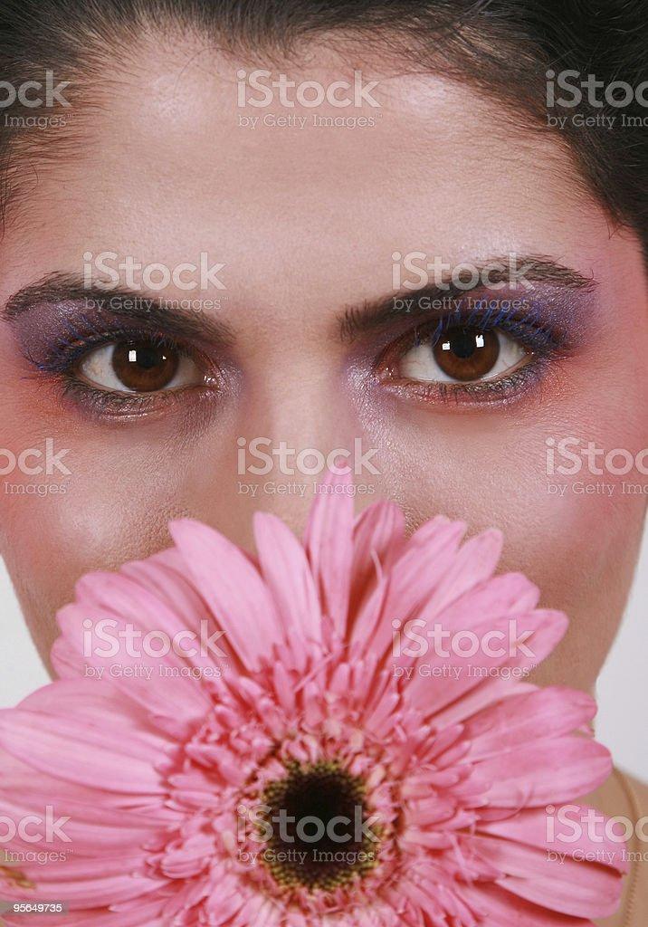 Blume Frau - Lizenzfrei Erwachsene Person Stock-Foto