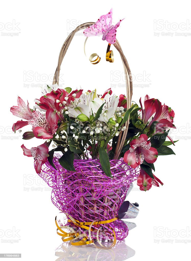 flowers alstroemeria royalty-free stock photo