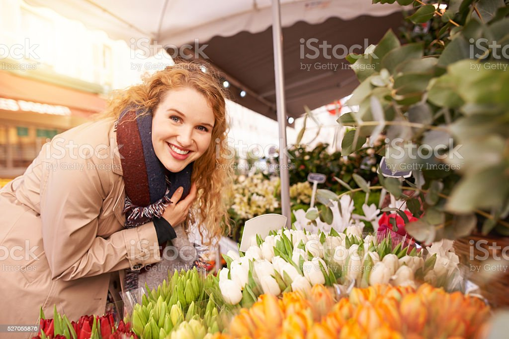 Flowers are my favourite stock photo
