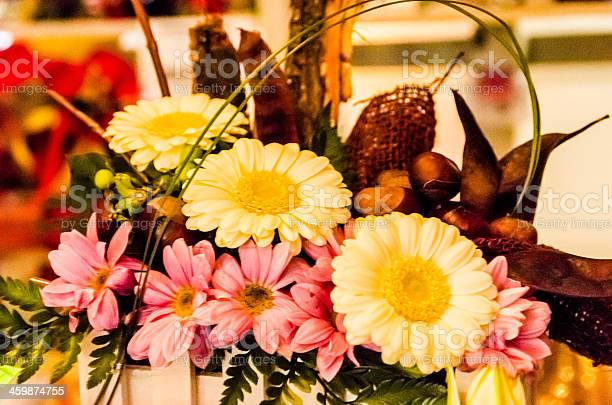 Variation of flowers , arranged all together.