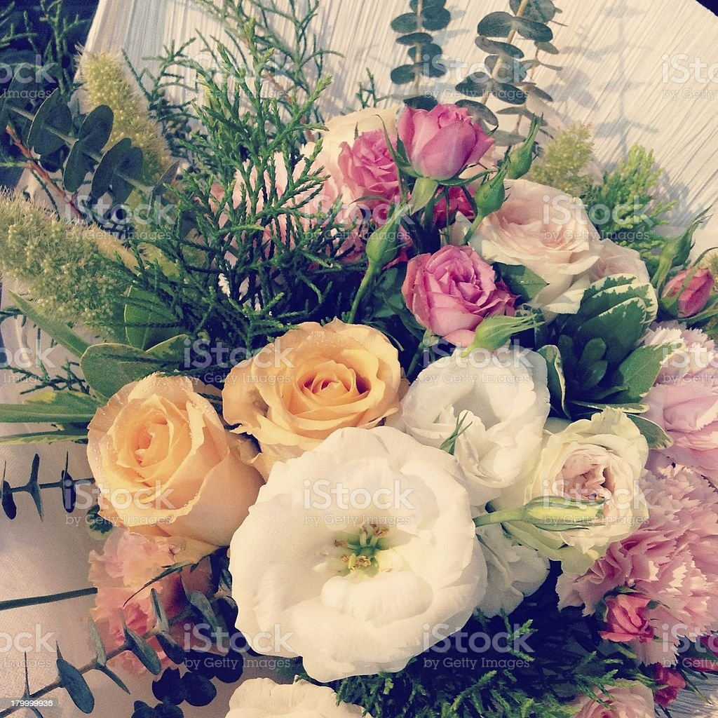 꽃 배경기술 royalty-free 스톡 사진