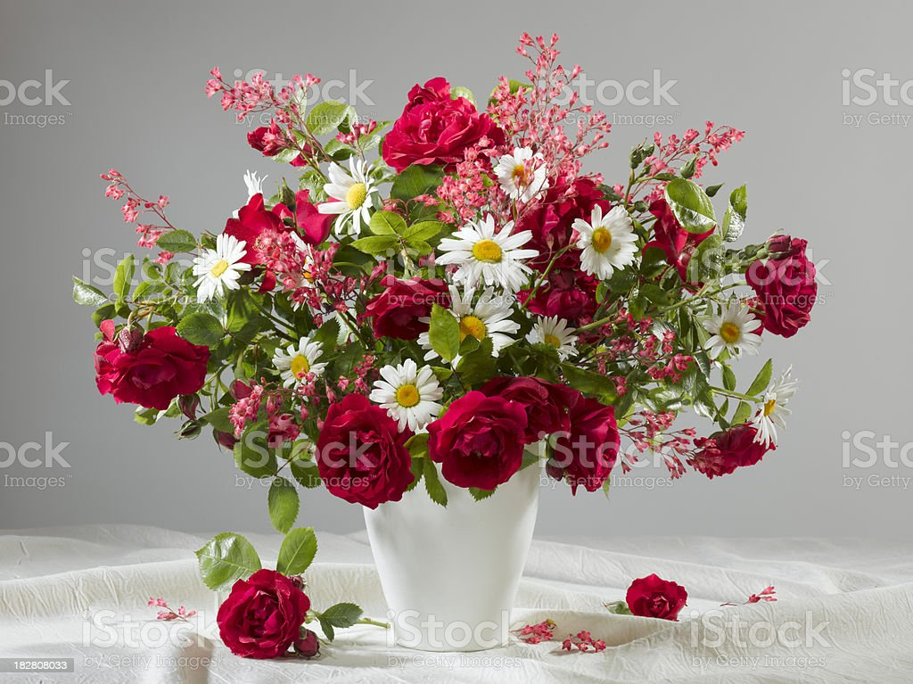 Flowers bouquet. stock photo