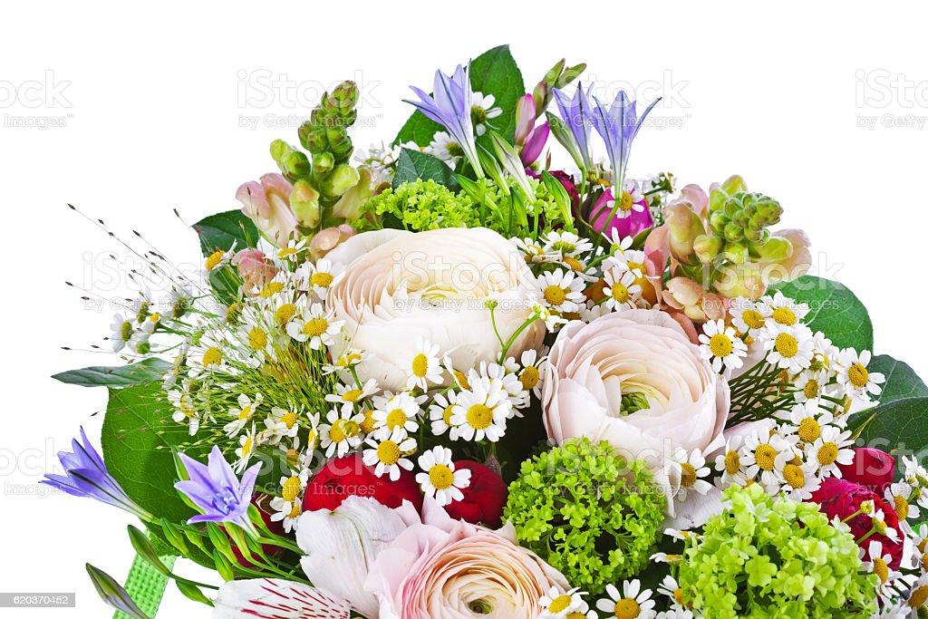 Kwiaty Bukiet  zbiór zdjęć royalty-free