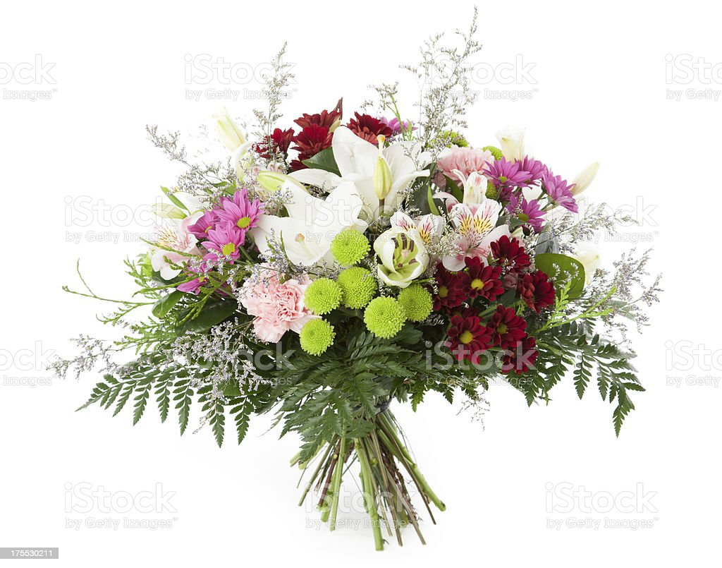 Flowers bunch royalty-free stock photo