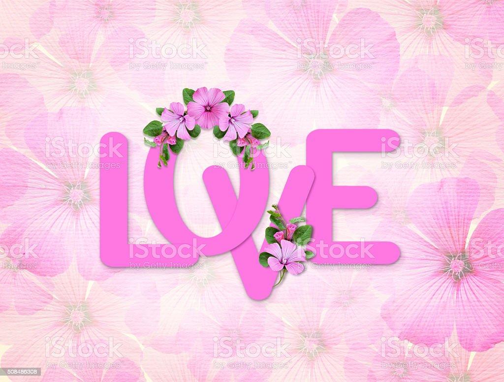 Decorazioni Lettere D Amore lettere damore fiori e decorazioni in - fotografie stock e