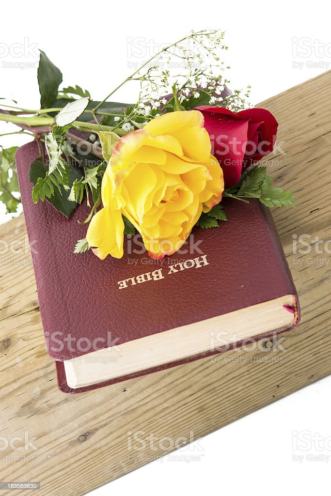 Flowers for God royalty-free stock photo