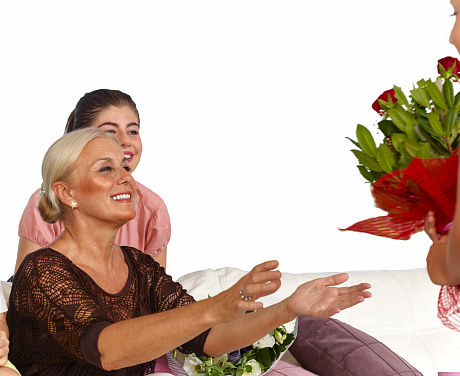 Flowers for grandmother
