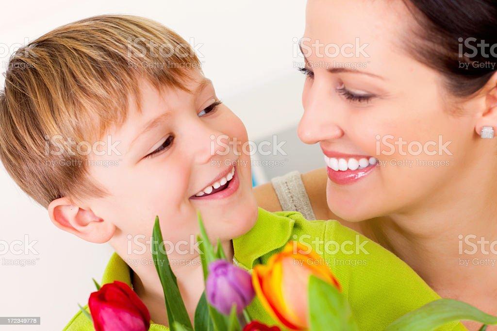 Flores para mamá foto de stock libre de derechos