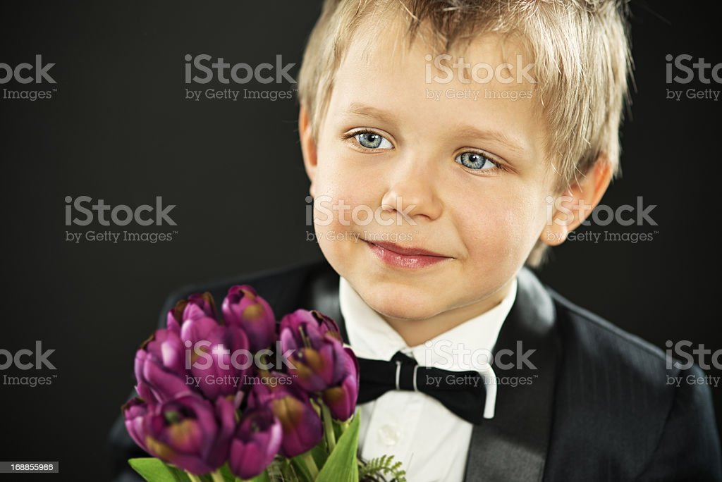 Flowers for mother royalty-free stock photo