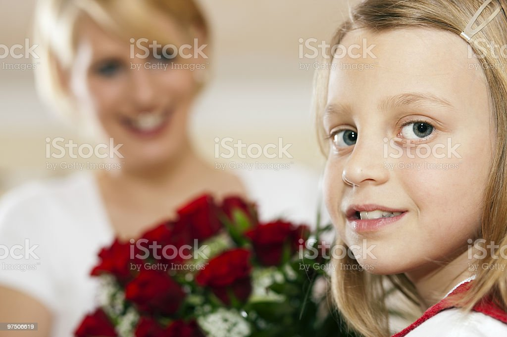 Flowers for mother's day royalty-free stock photo