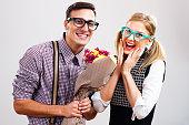 istock Flowers for my nerdy lady! 529384605