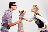 istock Flowers for my nerdy lady! 529384607