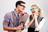 istock Flowers for my nerdy lady! 529423691
