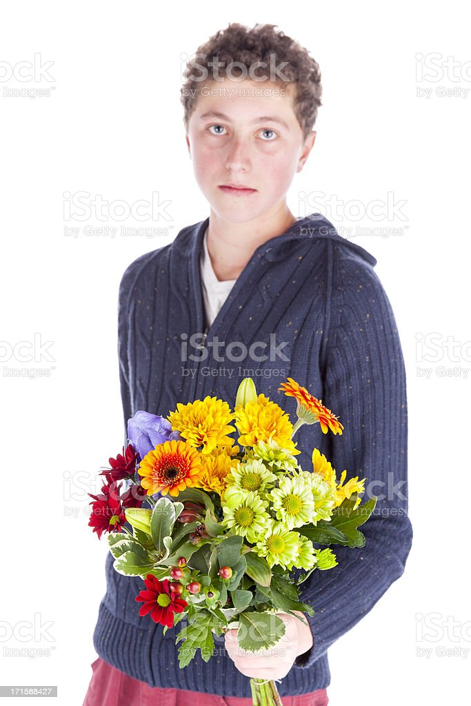 Flowers For You royalty-free stock photo