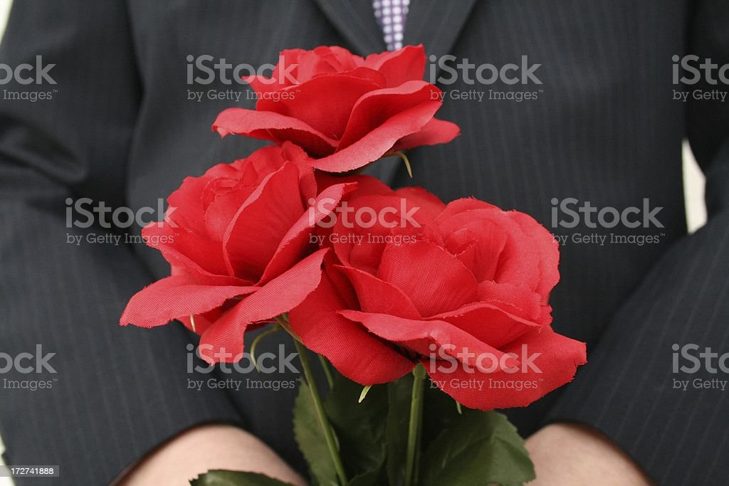 Flowers for you stock photo