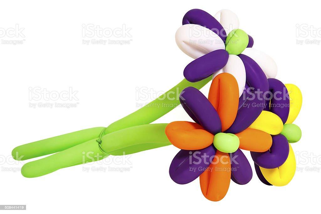 Цветы из номеров позиций стоковое фото
