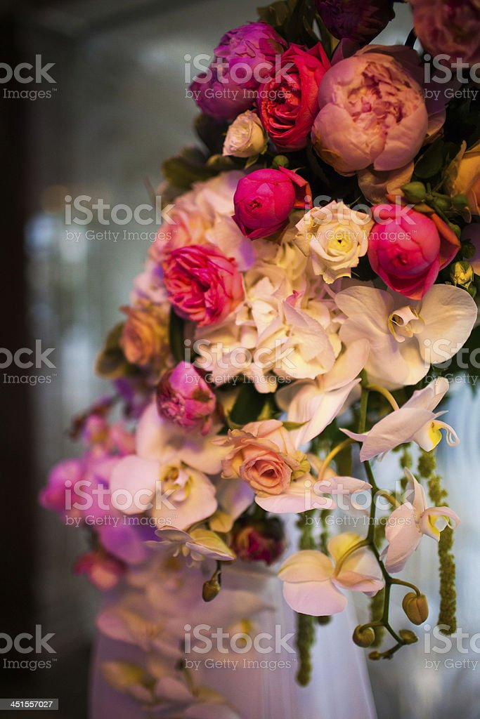 Flowers in a vase royalty-free stock photo
