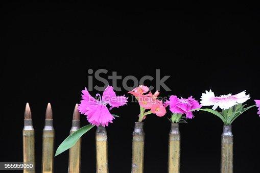 flowers in the barrel