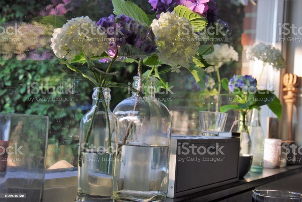 Flowers In Vase Stock Photo More Pictures Of Atmospheric Mood Istock