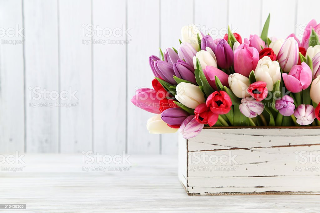 Blumen in vase – Foto